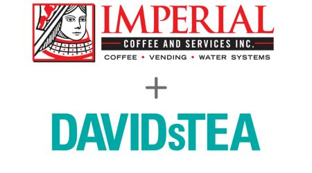 Imperial Coffee and DavidsTea Partner